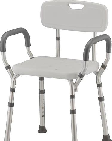 Bath Chair / Bench (Nova) Padded Arms Removable Back 9036-R