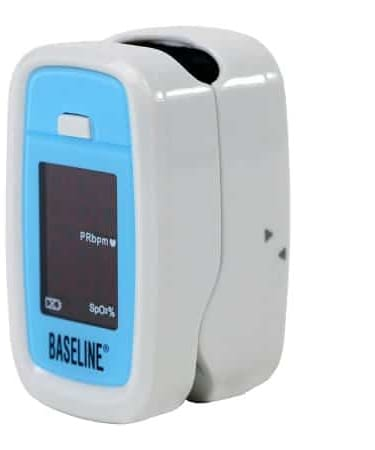 Fingertip Pulse Oximeter Baseline Battery Operated