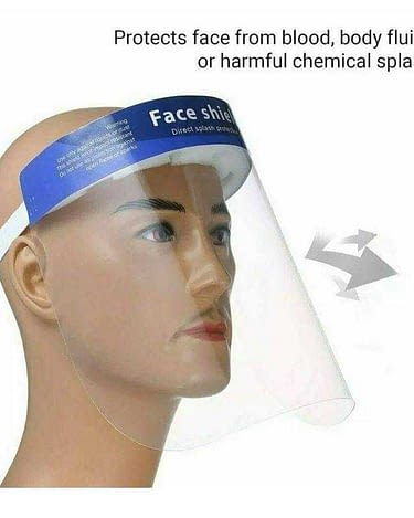 Face Shield Polypropylene Plastic  (10/PK)