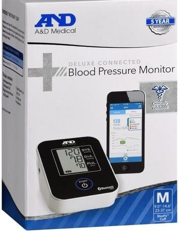 Deluxe Connected Blood Pressure Monitor Bluetooth