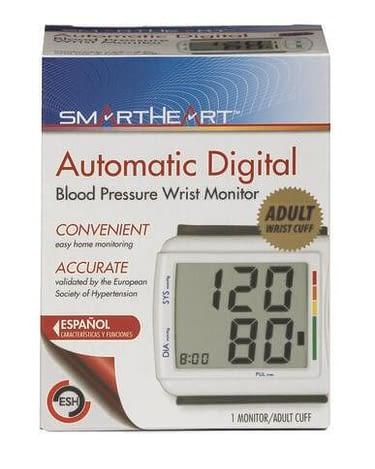 SmartHeart™ Digital Wrist Blood Pressure Monitor