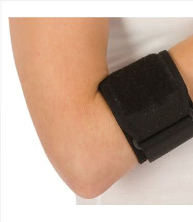 Tennis Elbow Support 3M Futuro Strap Left or Right Black