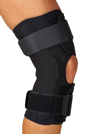 Knee Braces Wrap-Around Hinged Medline