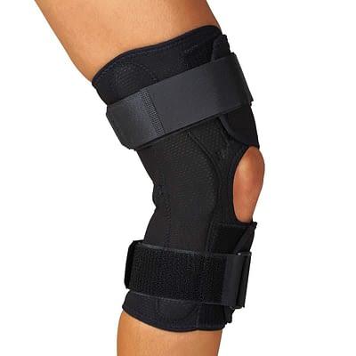 Knee Braces Wrap-Around Hinged Medline