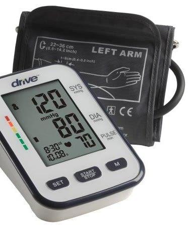 Blood Pressure Monitor Drive™ Desk Model 1-Tube Adult Size Arm