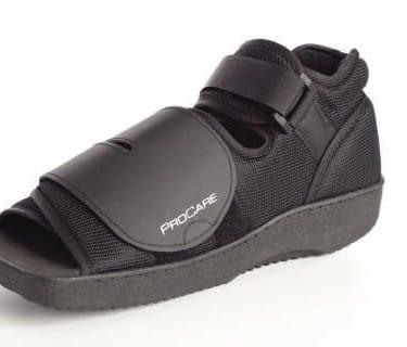 Post-Op Shoe Unisex Black