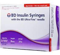 BD Insulin Syringe
