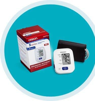 Omron Blood Pressure Monitor 3 Series™ Desk Model Wrist