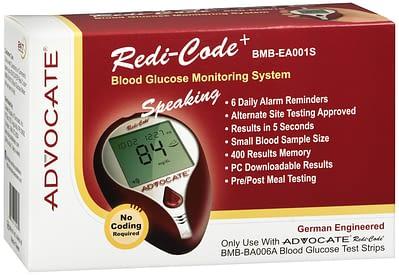 Advocate Redi-Code+ Blood Glucose Monitoring System