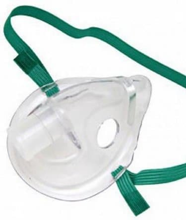 "Nebulizer Face Mask ""BUBBLES"" Elongated Style Pediatric One Size Fits Most"