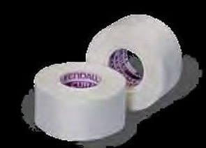 Medical Tape Kendall™ Hypoallergenic Silk-Like Cloth 2 Inch X 10 Yard White NonSterle 6/BX