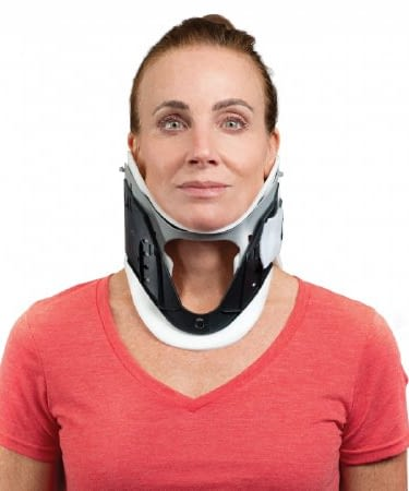 Cervical Collar Rigid Preformed Adult One Size Fits Most