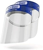 Face Shield Protective Wraparound One Size Fits Most