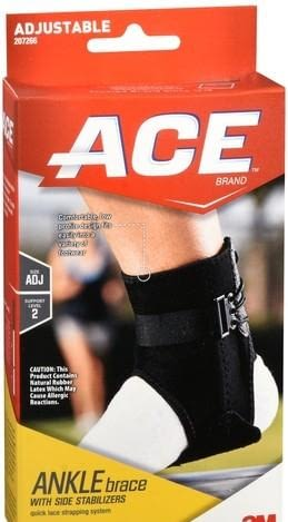 ACE® Ankle Brace One Size Fits Most Strap Ankle