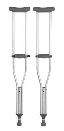 Underarm Crutches McKesson Adult 60 inch 350 lbs.