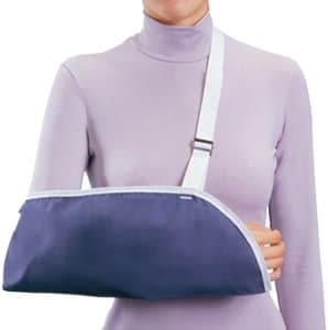 Arm Sling McKesson Hook and Loop Closure