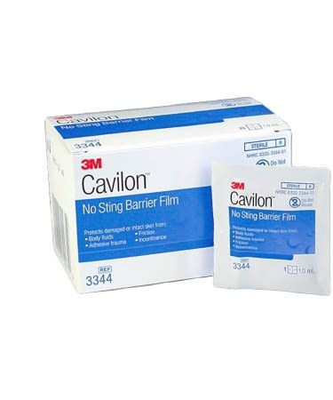 Skin Barrier Wipe Cavilon No Sting 30/box (3344)