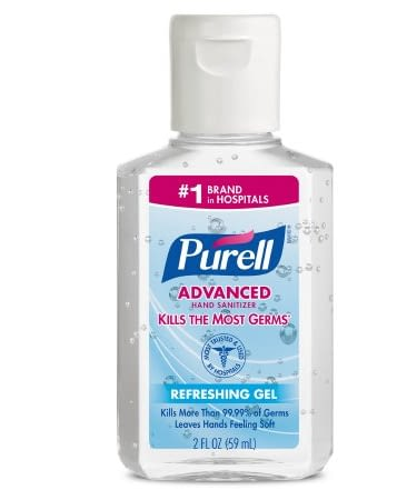 Purell Alcohol Hand Sanitizer Bottle 70% Ethyl Alc