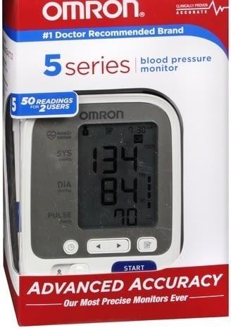 Omron Blood Pressure Monitor 5 Series™ Desk Model 1-Tube Adult Upper Arm