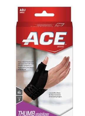Thumb Stabilizer Ace Deluxe Adult One Size Fits Most